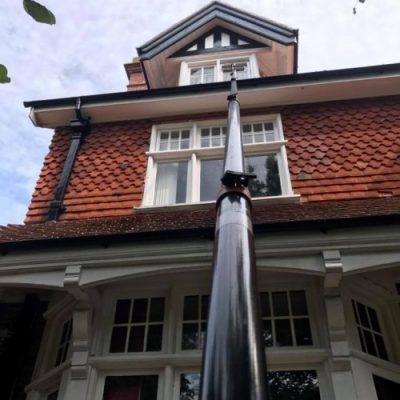 water fed pole window cleaner west sussex